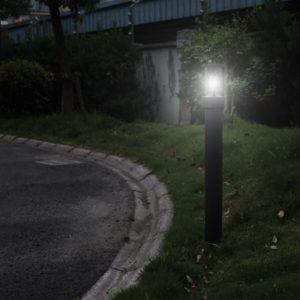 borne led de jardin pas chère pour éclairage de vos allées de nuit