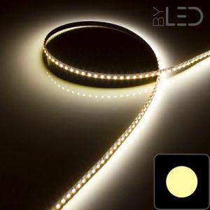 ruban LED Blanc chaud (IP20) 3528 de 9,6 W/m et de 120 LED/m