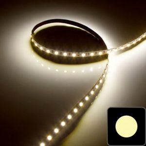 Ruban IP20 5050 - Blanc - 14,4W/m - 60 LED/m blanc chaud