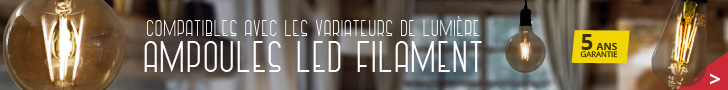 promotion sur les ampoules led à filament rétro chez ByLED France