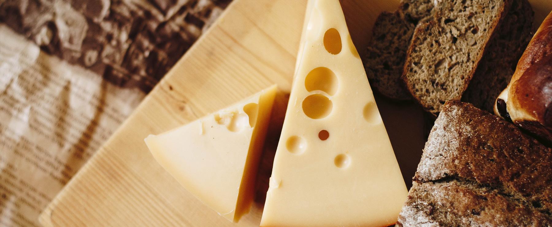 éclairage fromage et pain LED blanc chaud