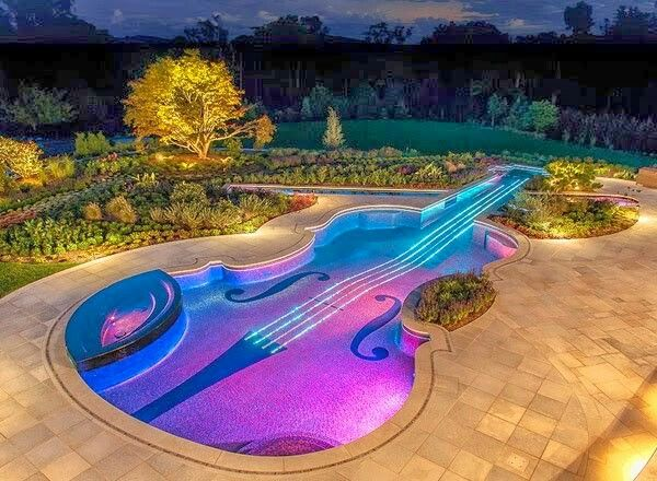 Piscine violon